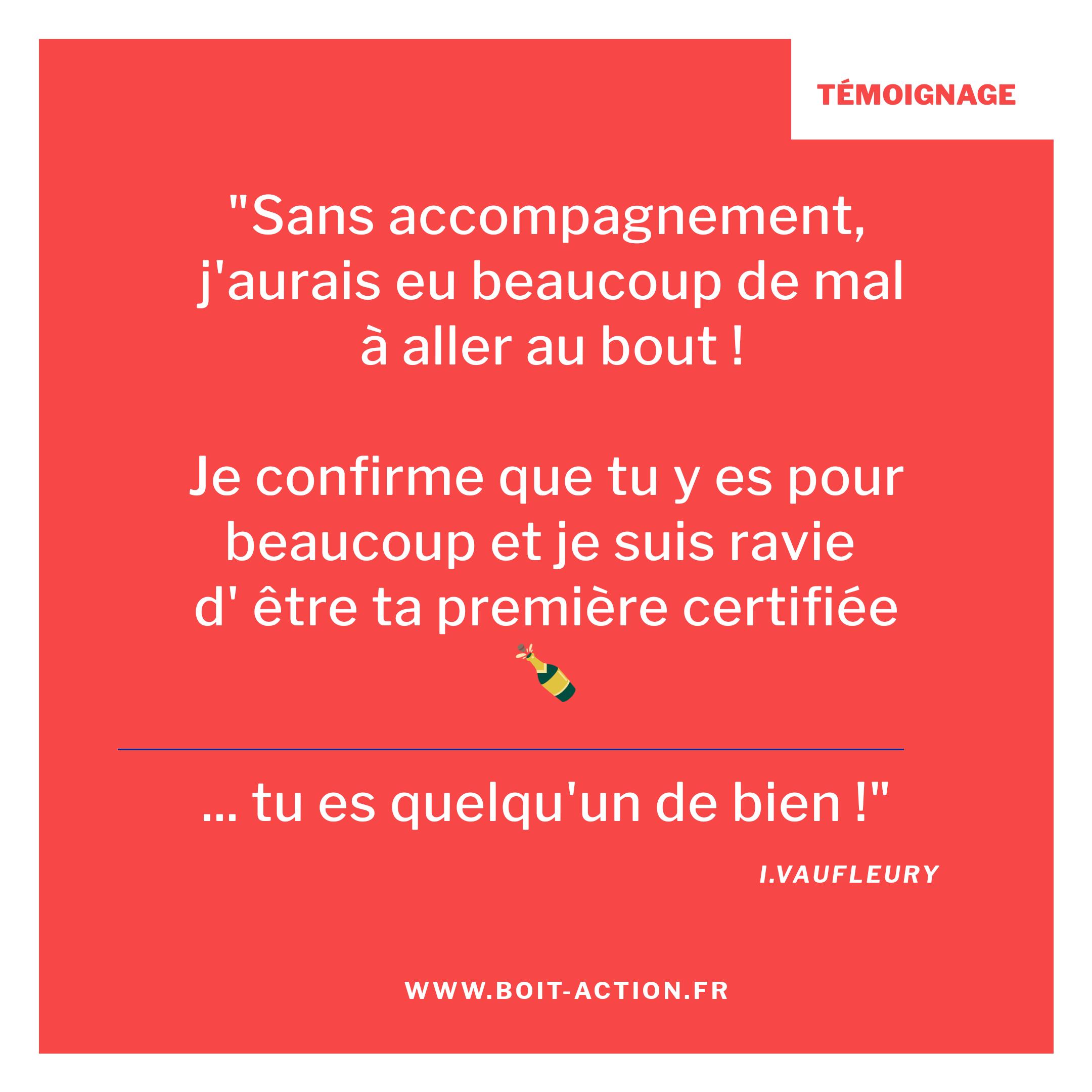 Témoignage Certification Qualité Formateur à Rennes En Bretagne