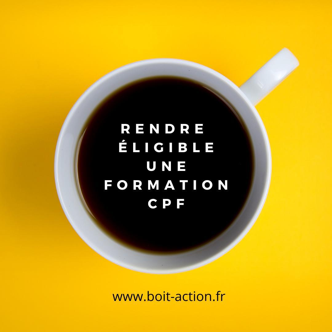 Vous Souhaitez Créer De NouvellesformationséligiblesCPF?