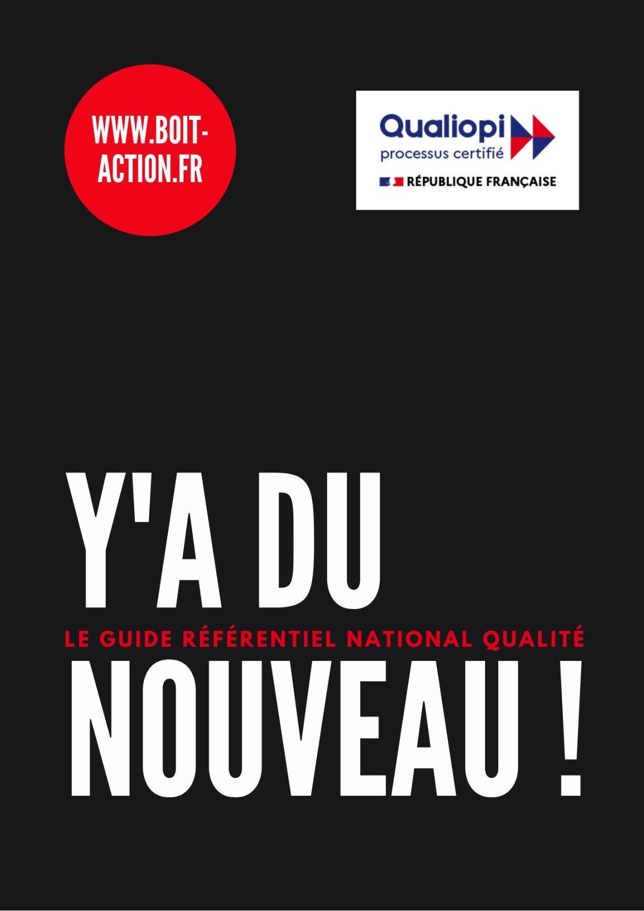 Un Nouveau Guide Référentiel National De Qualité ?